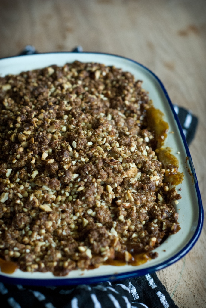 Apple Feijoa Crumble-6
