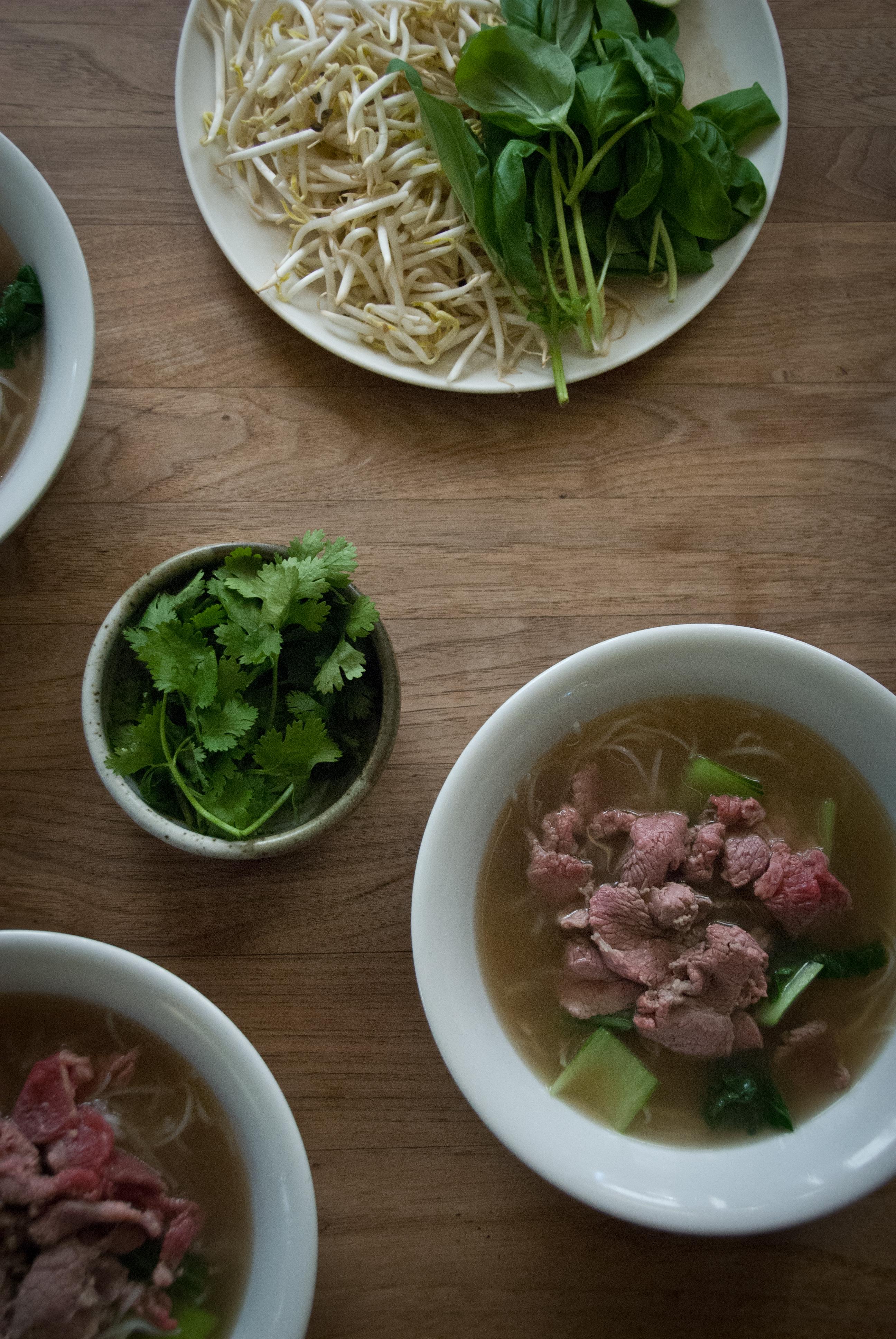 Vietnamese Pho Soup - Simple Bone Broth Version (Beef or Chicken)